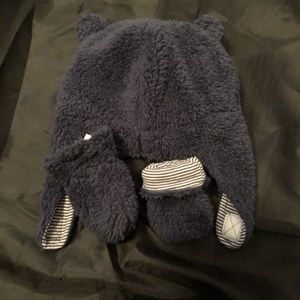 Baby hat and gloves 0-9 months